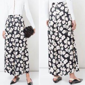 Proenza Schouler | Silk Floral Wide Leg Pants 8